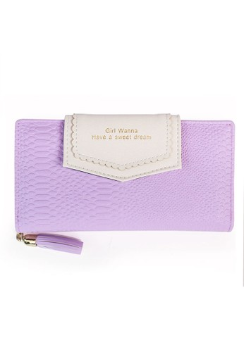 VERNYX - Woman's Pretty Wallet DO423 Purple - Dompet Wanita