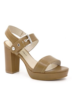 88% OFF OSCAR   MAYA IRIA 10cm High-heel Strappy Platform Sandals HK   995.00 NOW HK  118.00 Sizes 40 2a9c0604130