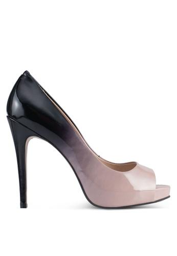 Carvela KG black and beige Alberta Court Heels CA459SH0SHSZMY_1