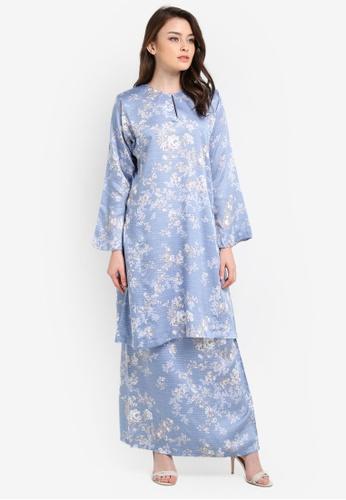 Butik Sireh Pinang blue Embun Kurung Pahang BU003AA0RYXJMY_1