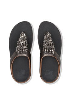 76c5dbf0f Fitflop Fitflop Rumba Toe-Thong Sandals Pewter RM 469.00. Sizes 5 6 7 8 9