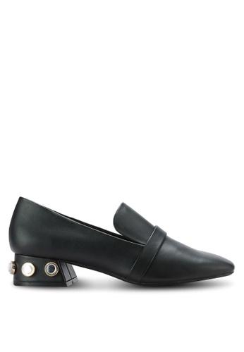 Mango black Applique Heel Loafers MA193SH0RAUTMY_1