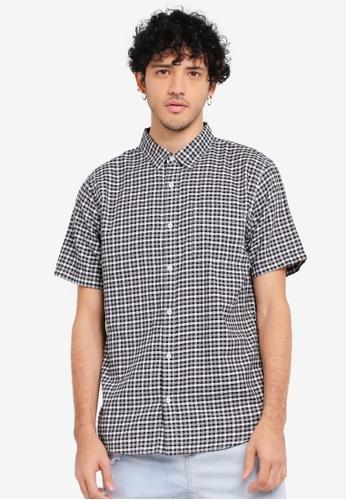 Cotton On black Vintage Prep Short Sleeve Shirt CO372AA0SSB3MY_1