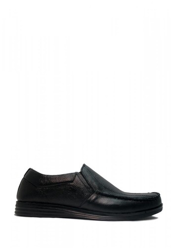 D-Island black D-Island Shoes Slip On Office Eagle Genuine Leather Black 29EDESH187A163GS_1
