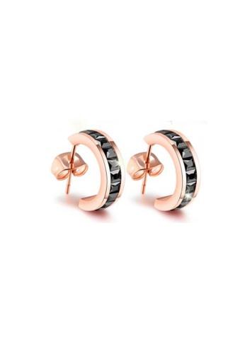 CELOVIS black and gold CELOVIS - Georgia Black Zirconia Earrings 56C35ACF18635CGS_1