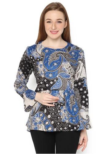 Jual Agrapana Tara Batik Couple Baju Batik Wanita Atasan