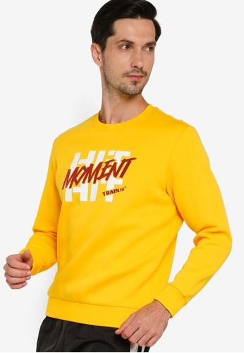 361° yellow Cross Training Sweater E979EAA6CB2102GS_1