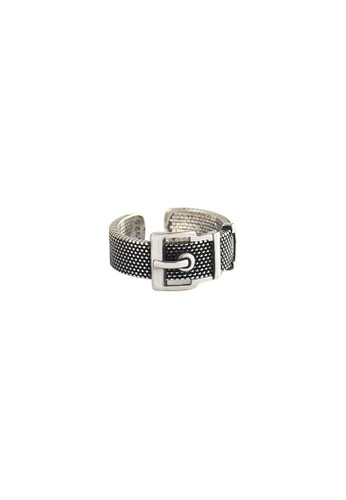 A-Excellence silver Premium S925 Sliver Geometric Ring 5CFF4ACD7AA87FGS_1