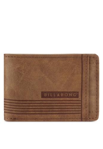 Billabong brown Vacant Wallet BI783AC0SXHVMY_1