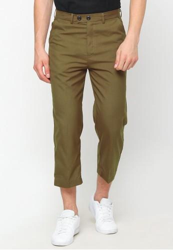 Haq Muslimwear gold and brown Haq Casildo La Isbal Boogie Pants Gold Brown 52004AAABECD64GS_1