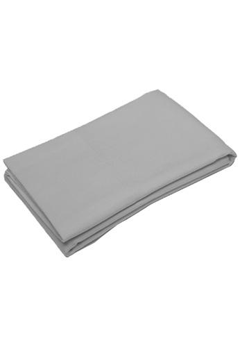 Primeo grey Premium Bolster Pillow Cover 7C6B0HLB8B231BGS_1
