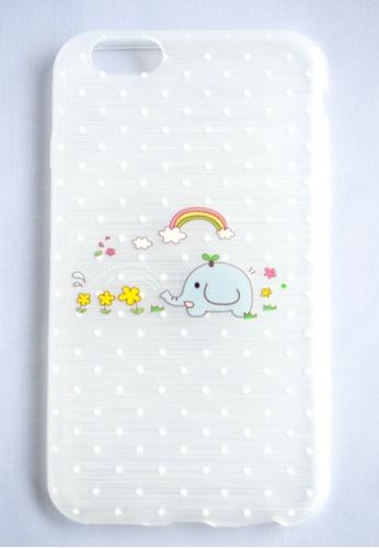 Fancy Cellphone Cases multi Happy Elephant Case for iPhone 6 FA644AC28DGPPH_1
