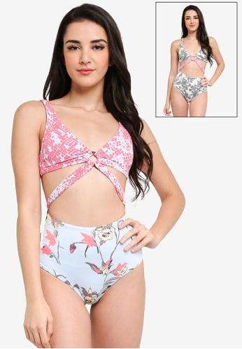 Maaji multi Pursuit Of Mermaidness Reversible One Piece Swimsuit 045C7USDC22C48GS_1