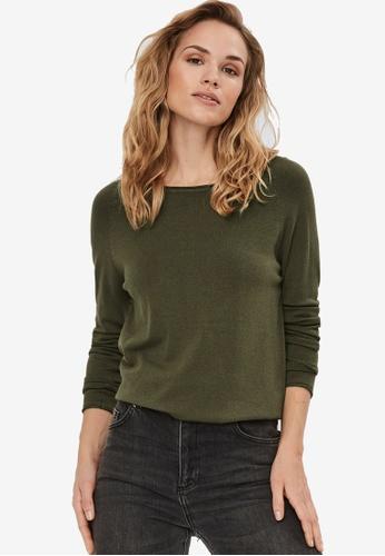 Vero Moda green Nellie Pullover 0FD8AAA37BB100GS_1