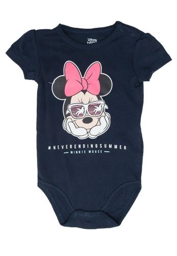 FOX Kids & Baby navy Short Sleeve Bodysuit D0BAFKA2908181GS_1