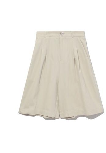 b+ab white Bermuda shorts 30D7CAAB47282BGS_1
