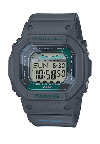 CASIO grey Casio Baby-G G-Lide Grey Resin Watch C6DB0ACB8EF946GS_1