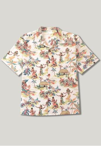 Twenty Eight Shoes Vintage Printed Aloha Shirt MD206035 DF482AA3B89D9EGS_1
