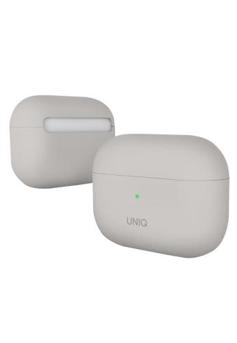 Uniq beige Uniq Lino Hybrid Liquid Silicon Airpods Pro Case - Beige (IVORY) 2CE81ES33F5BC4GS_1