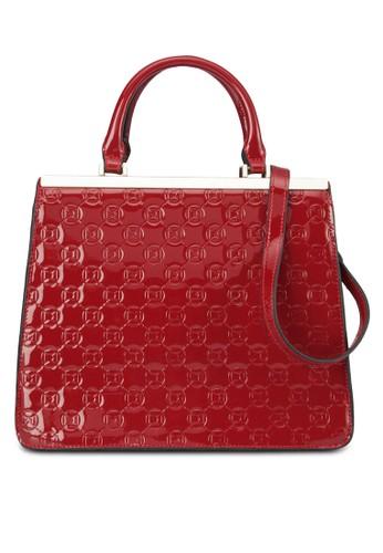金飾領格紋托esprit 品牌特包, 包, 飾品配件