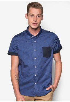 Short Sleeves Printed Shirt