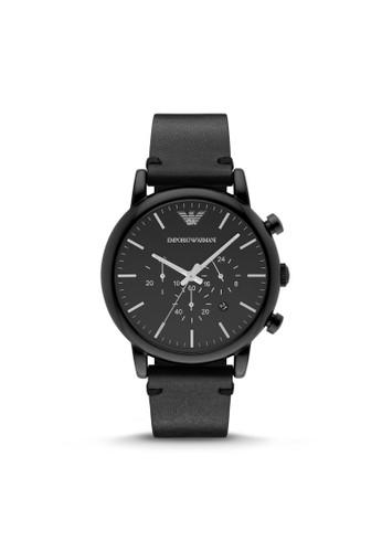 Emporio Aesprit台灣門市rmani LUIGI休閒系列腕錶 AR1918, 錶類, 休閒型