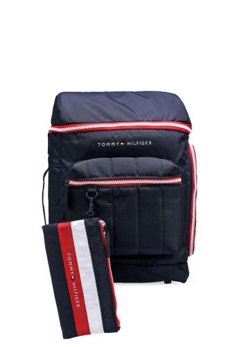 Tommy Hilfiger black Int Tech Boy Backpack 14C6AKC139E324GS_1