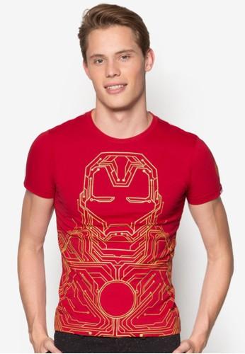 鋼鐵人設計TEE, 服飾esprit分店, T恤
