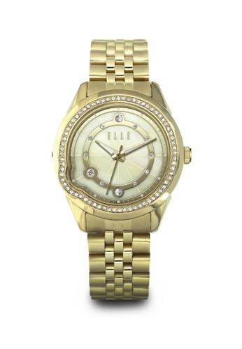 ELLE gold Fashion Ladies Watch EL105AC71LLOMY_1