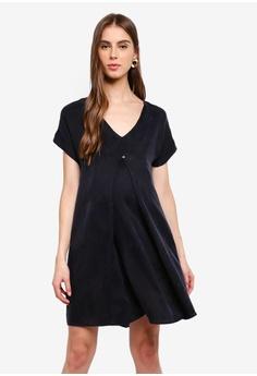 81c099265fb16 Seraphine black Dawn Woven Maternity & Nursing Dress C5BDBAA4381BDDGS_1