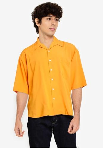 niko and ... orange Pocket Shirt BC759AA0466BADGS_1