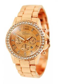 Geneva Maxene Stainless Steel Watch BUS093