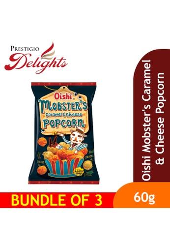 Prestigio Delights Oishi Mobster's Caramel & Cheese Popcorn 60g Bundle of 3 B7C85ES753409FGS_1
