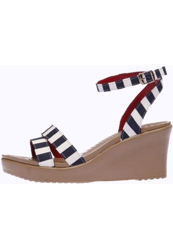 paperplanes multi SNRD-212 Women Fashion Ankle Strap Aqua Wedge Sandals Shoes PA110SH86OYNHK_1