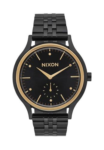 Nixon black SALA BLACK/GOLD 3D16FAC86CC927GS_1