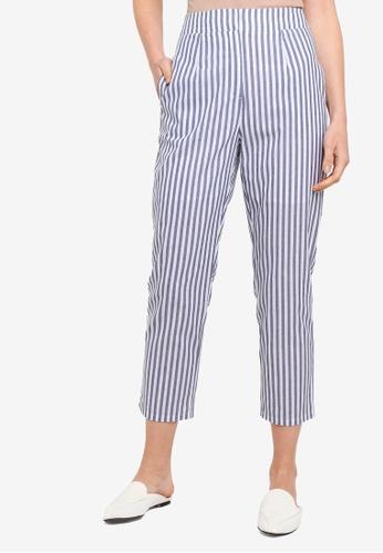 Zalia navy Tailored Pants 5777CAA502F718GS_1