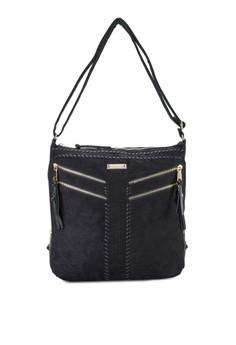 Whipstitch Cross Body Handbag
