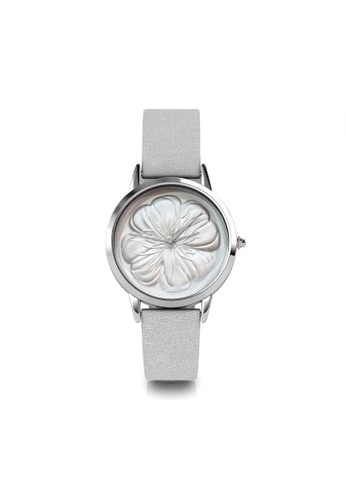 Her Jewellery silver Blossome Watch (Silver) 226DAAC29BF58EGS_1