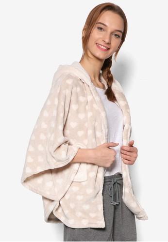 Pandeesprit outletring Fleece Poncho, 服飾, 服飾