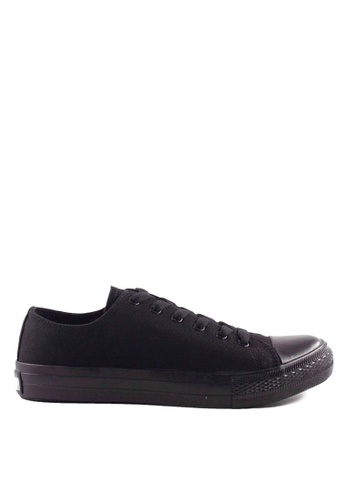 Pallas black Pallas Jazz Star Lo Cut Shoe Lace 407-196 All Black 3B363SH7EF1968GS_1