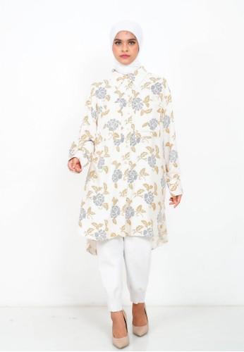 My Daily Hijab white Kalista Tunik 6F441AA7FE7208GS_1