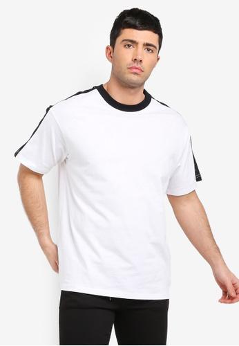 Cotton On 白色 寬鬆T恤 719AEAAD5721C2GS_1