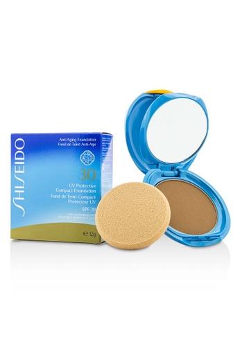 Shiseido SHISEIDO - UV Protective Compact Foundation SPF 30 (Case+Refill) - # Dark Beige 12g/0.42oz 0A8F5BE1786B22GS_1