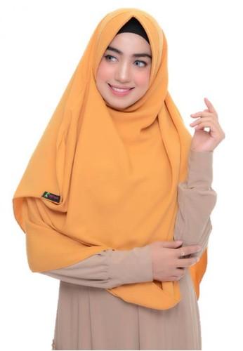 First Hijab yellow Alika Pashmina Instant In Yellow B29AFAAA91C704GS_1