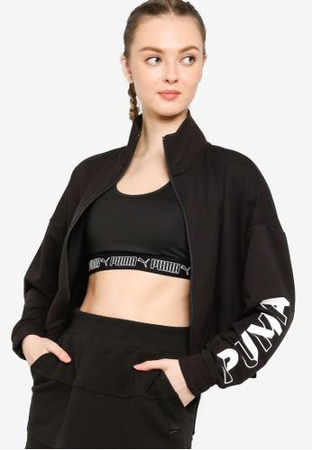 Puma black Modern Sports Women's Track Jacket B4B54AA01C5DE1GS_1