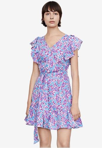 URBAN REVIVO blue Casual Dress 2353CAAB7856F0GS_1