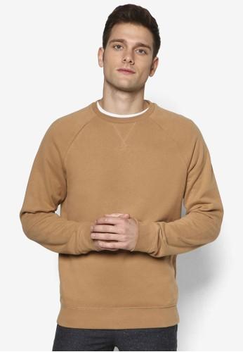 素色拉克蘭長袖衫esprit hk, 服飾, 服飾