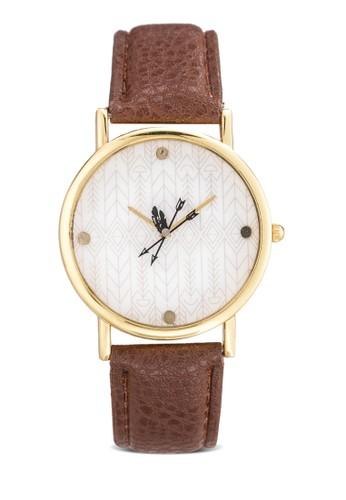 箭頭指針仿皮esprit mongkok手錶, 錶類, 休閒型