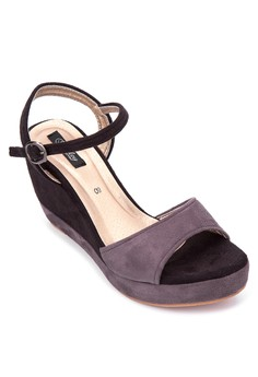 Lourie Ankle Strap Wedge