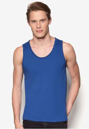彩色棉質背心, esprit地址服飾, T恤